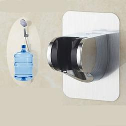 bathroom shower head holder adjust no drilling bracket mount