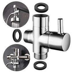 Brass 3-way Diverter Valve for Shower Head or Bath Tap Switc
