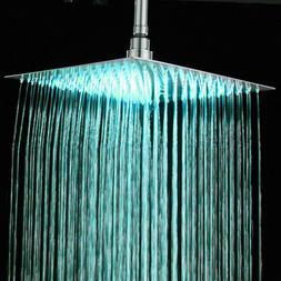 ELLO&ALLO Shower Panel Tower LED Rain Waterfall With Massage