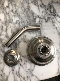 moen brushed nickel shower head