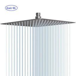 Chrome Brass Big 20 inch Round LED Shower Head Rainfall Top