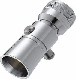 Chrome Shower Head Single Spray Setting 2.5 GPM Delta Luxury