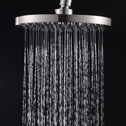Classical Round Rain Shower Head with 8-inch Rainfall Face,