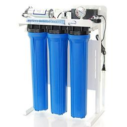 iSpring 300 GPD Commercial Reverse Osmosis RO Water Filter w