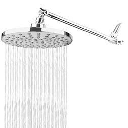 RongMax Complete Rain Shower Head Kit - 7.6 inch Luxury Rain