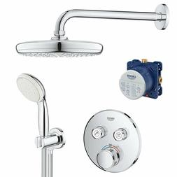 GROHE Concealed PROMO SHOWER SET w/ SMART BOX+ Hand Shower,