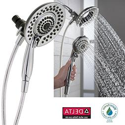 Delta In2ition 5-Function Handheld Dual Shower Head 2-in-1,
