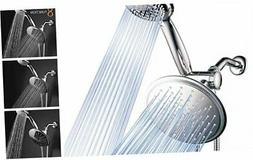 DreamSpa 3-way 8-Setting Rainfall Shower Head and Handheld S