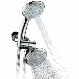 Durable 3 Way Shower Head 24 Setting Slimlin Rain Massage Aq