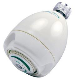 Earth Massage Showerhead Finish: White, Flow Rate: 1.5 GPM