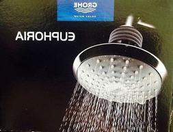 Euphoria Dual Spray Shower Head - Finish: Chrome
