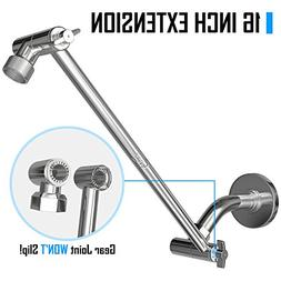 Coeur Designs 16 Inch Extra Long Shower Extension Arm. Solid