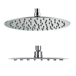 SR SUN RISE Fixed Mounted 10 Inch 304 Stainless Steel Rainfa