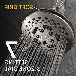 HotelSpa French Designer Collection 7-Setting Fixed Showerhe