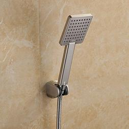 KES Hand Held Shower Heads Handheld Combo Brushed Nickel wit