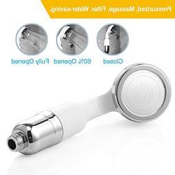 Handheld Shower Head, Grawille Shower Heads with High-Pressu