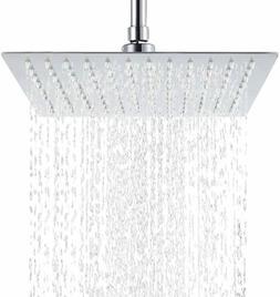 Hiendure Rain Shower Head High Pressure Stainless Steel Bath