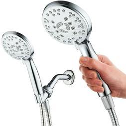 AquaSpa High Pressure 6-setting Handheld Shower Head – 6 F