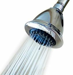 High Pressure Multiple Spray Shower Head For Wall Mount Conn