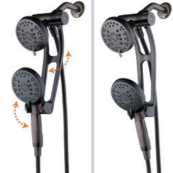 AquaSpa High Pressure Shower Combo w/ Adjustable Extension A