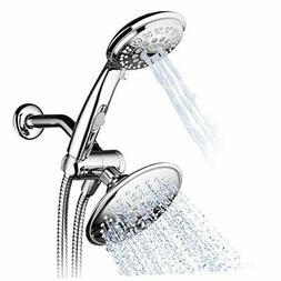 Hydroluxe 30-Setting Ultra-Luxury 6 inch Rainfall Shower Hea