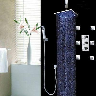10 Handheld Shower Head Body Sprays Set