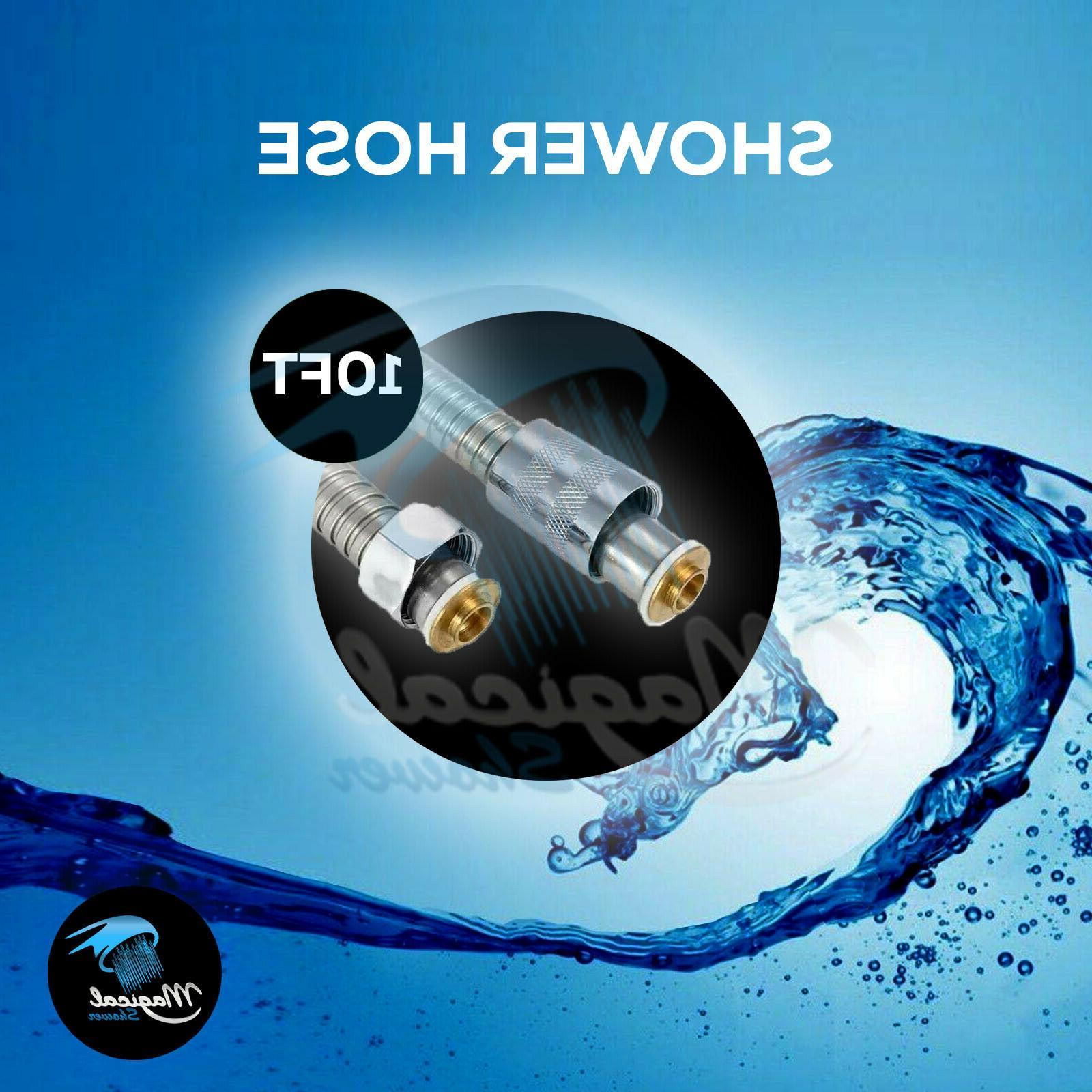 10FT Shower Head Hose Steel