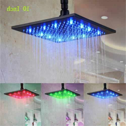 16 inch led shower head ceiling wall