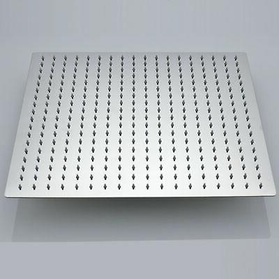 16 Square Shower Wall Mounted Top Steel