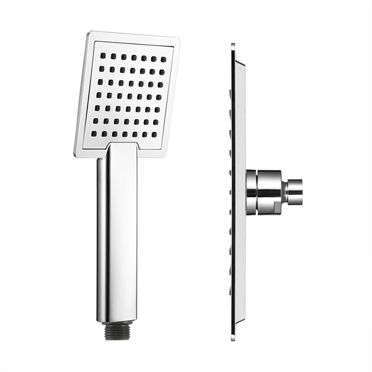 22*22cm 12 Square Shower Rain Shower 2 Set/Pack
