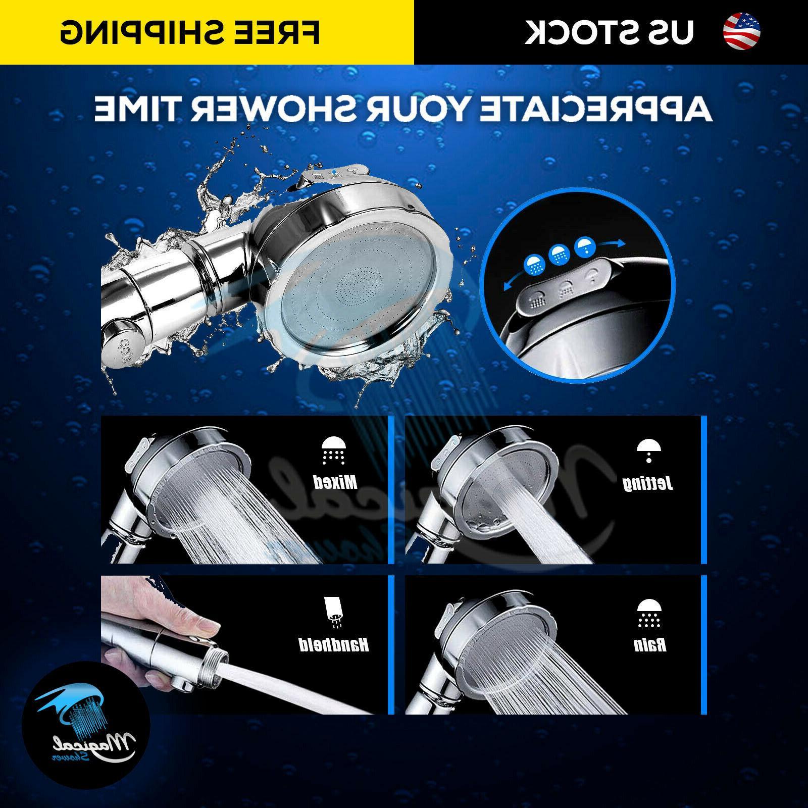 3 Pressure Handheld Shower Head