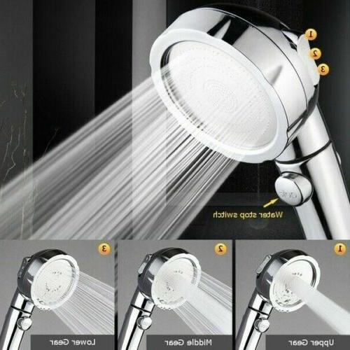 3 in 1 high pressure showerhead handheld