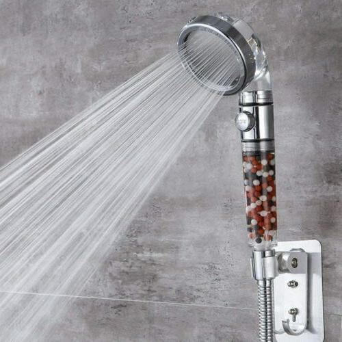 3 Mode Shower Ionic Filtered Stone