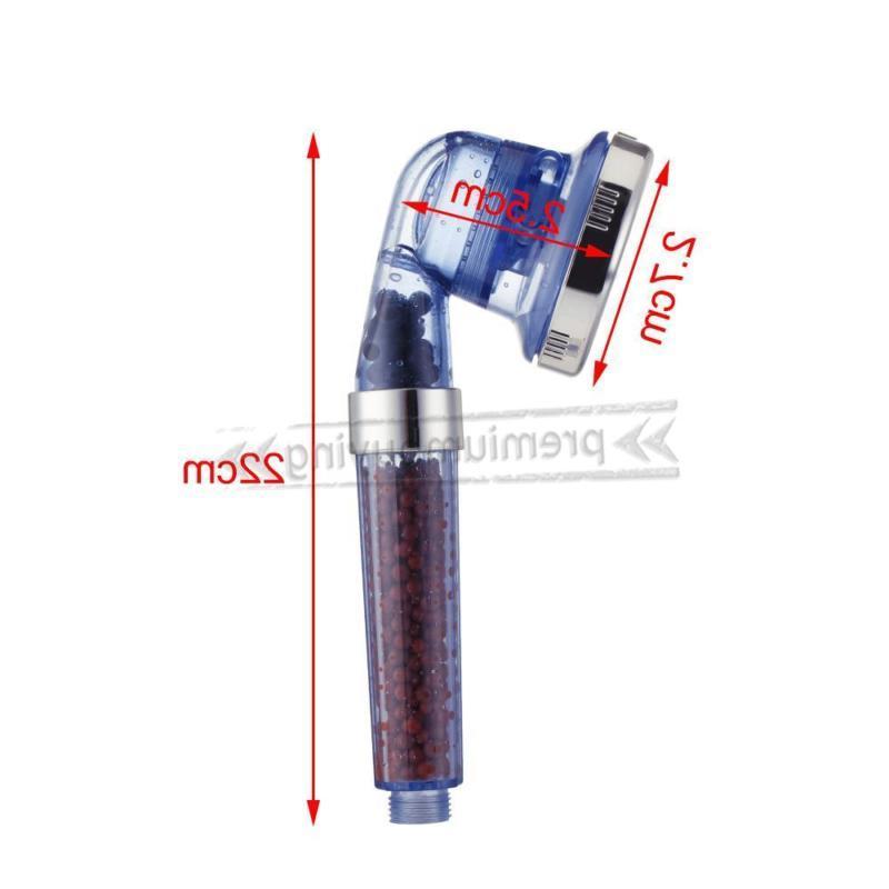 3 Mode Pressure Shower Ionic Stone Stream Saving