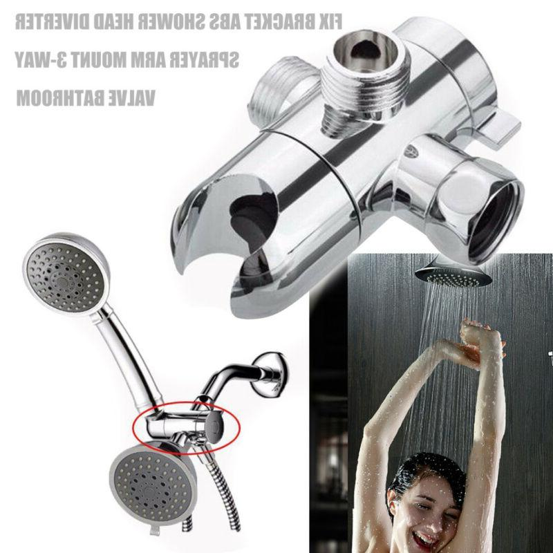 bathroom shower head diverter sprayer arm mount