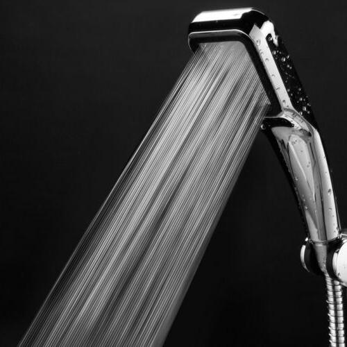 High Pressure Shower Head Bathroom Hand Rainfall Spray Water