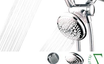 36 setting shower head handheld
