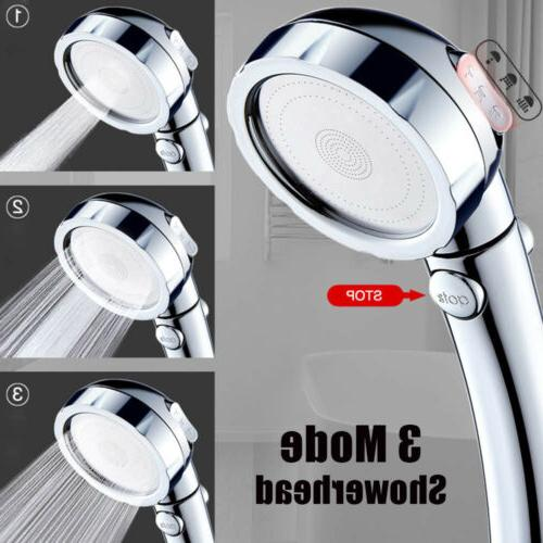 3in1 high pressure showerhead handheld shower head