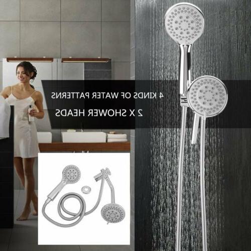 4 way shower combo setting luxury handheld