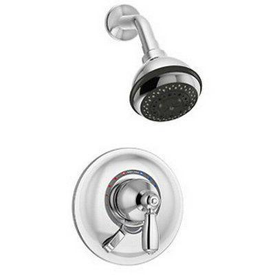 Symmons S-4701 Allura 3 Spray 2.5 gpm Shower System, Chrome