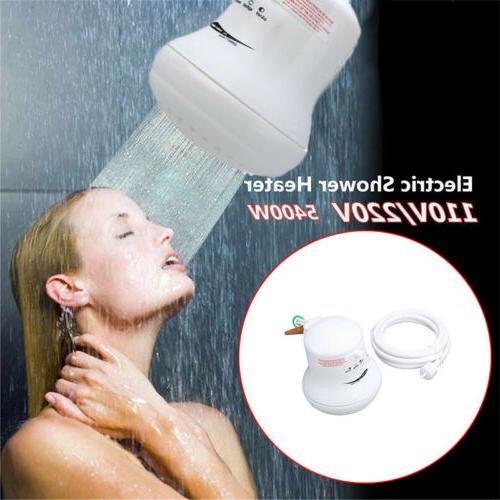 5400w 110v 220v electric shower head heat