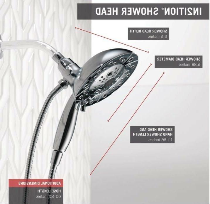Delta 5-Setting Two-in-One Handshower C