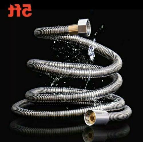 5ft shower head hose handheld stainless steel