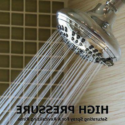 6 Luxury Shower Head - Chrome