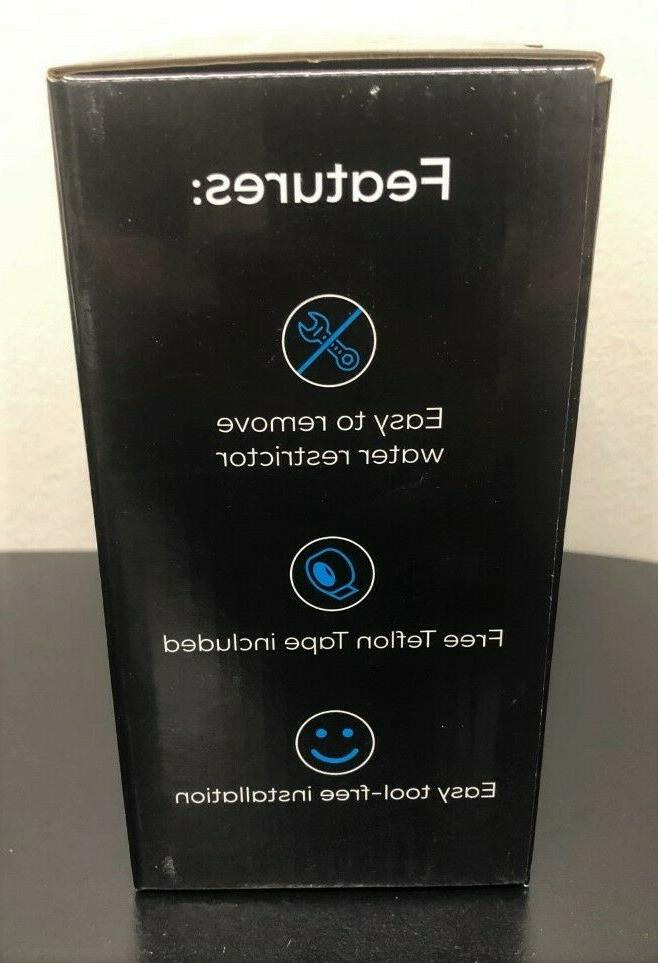 Shower Head Pressure Chrome