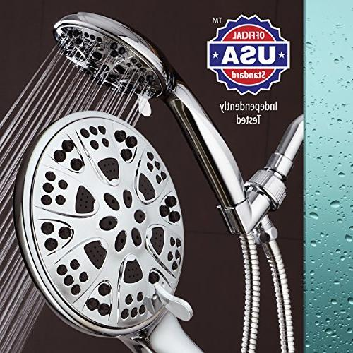 AquaDance Giant All Chrome Hand with for Shower Officially Tested to Strict US Quality Standards!