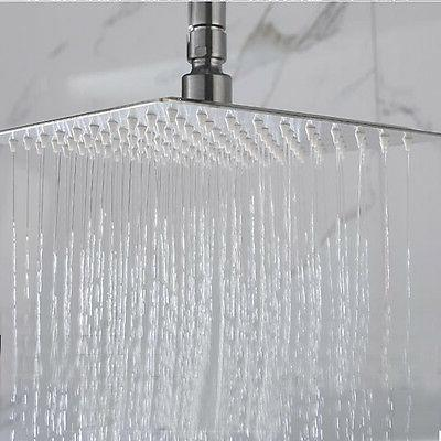 8'' Stainless Rain Shower Head Bathroom