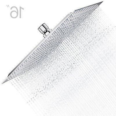 8 square stainless steel rain