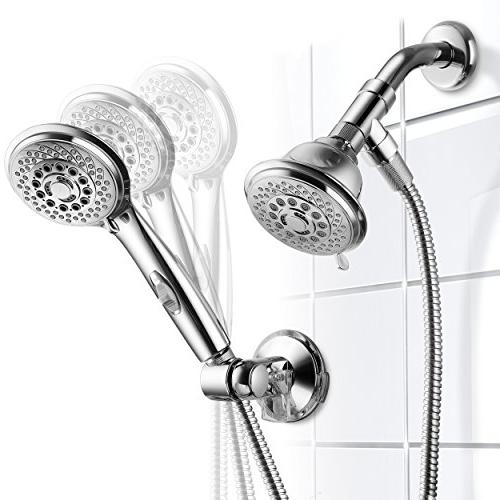 AquaCare HotelSpa 36-Setting Shower-Head/Handheld Shower Revolutionary Control. Switch Remotely pushing on Handheld