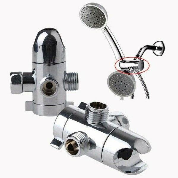 ABS 3-Way Valve Shower Diverter